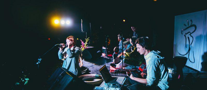 Jam session на фестивале «Шёпот Небес».