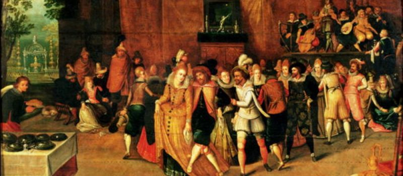 История социальных танцев. Средние века и эпоха Возрождения.