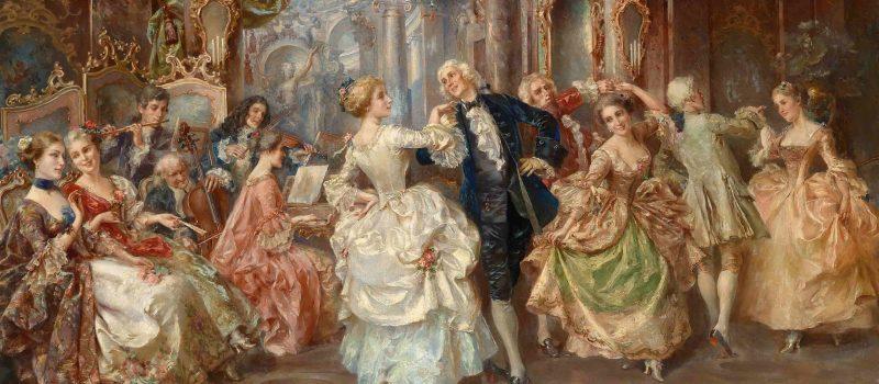 История Социальных Танцев. Эпоха Барокко.