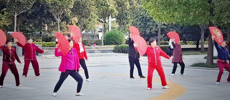 Евгений Парамонов: оздоровительная  «парковая» физическая культура Китая.