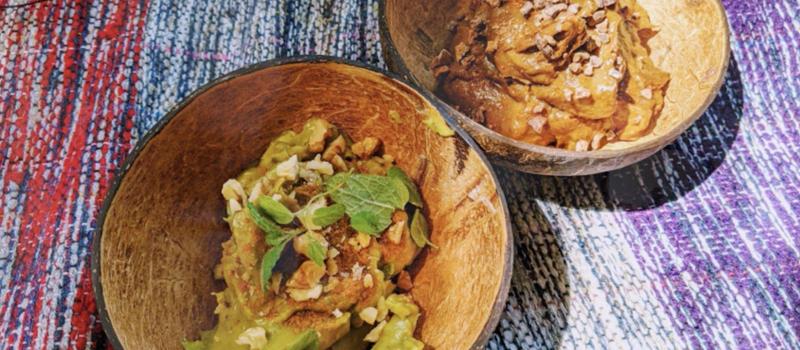 Вегетарианский десерт: мусс из авокадо