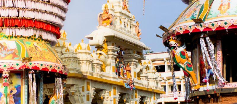 История храма Кришны в Удупи